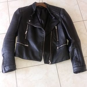 Zara motorcycle jacket. Size L.